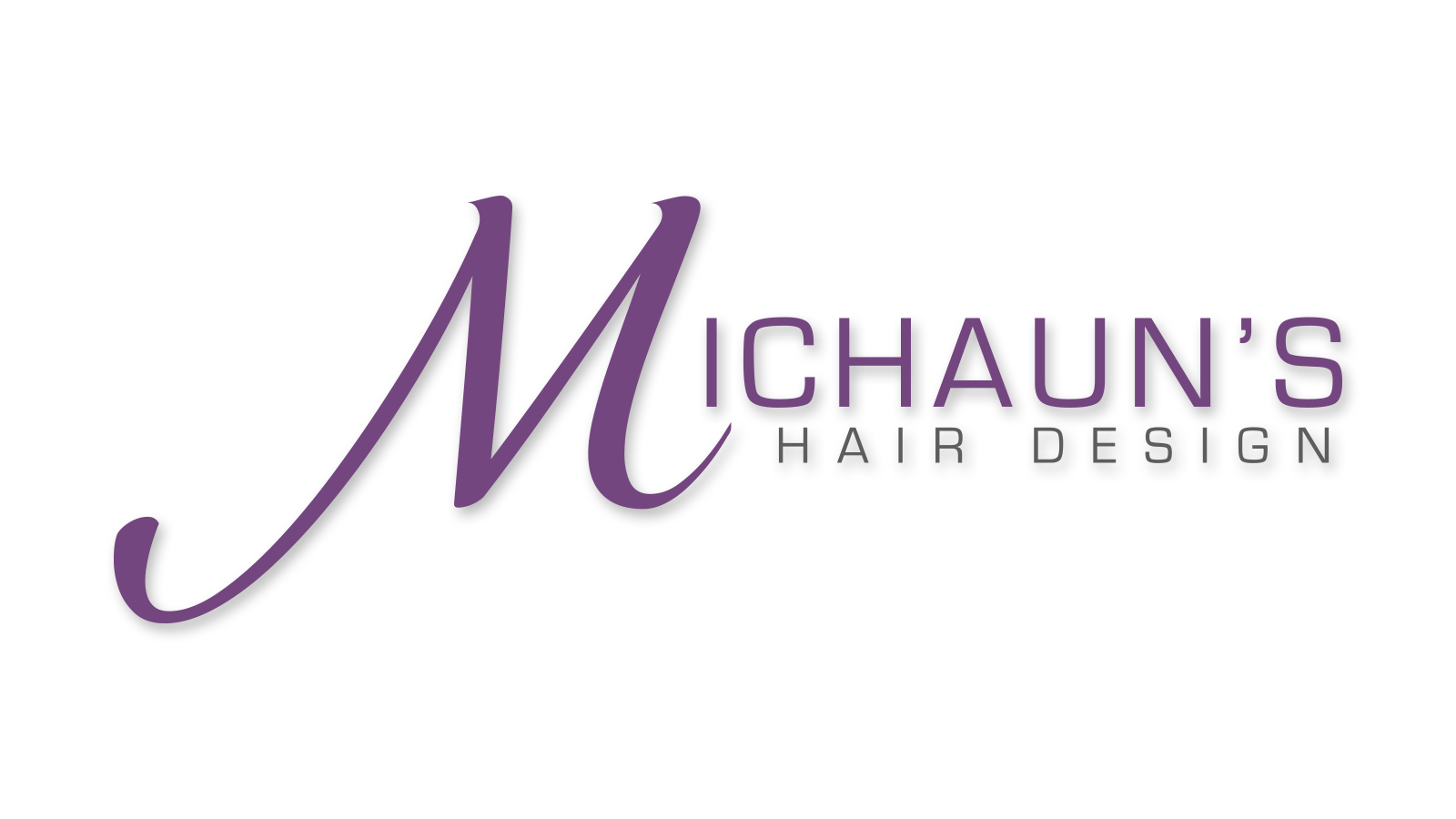 Michaun's Hair Design Logo