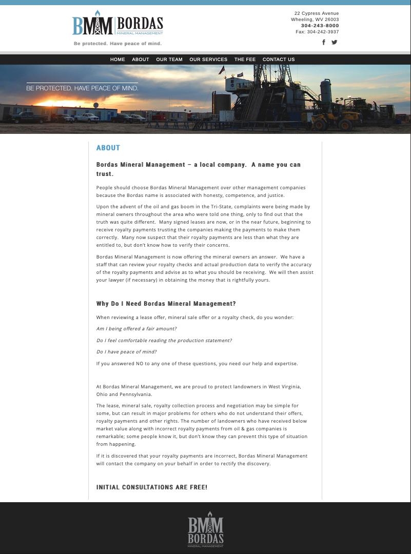 Bordas Mineral Management