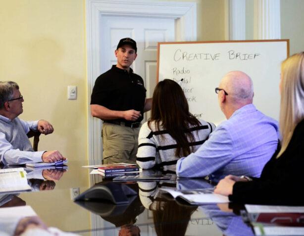 Creative Brief Meeting Photo